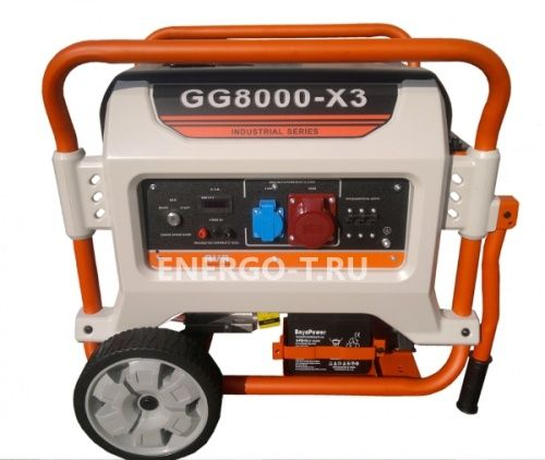 Газовый генератор REG E3 POWER GG8000-X3 (6 кВт)